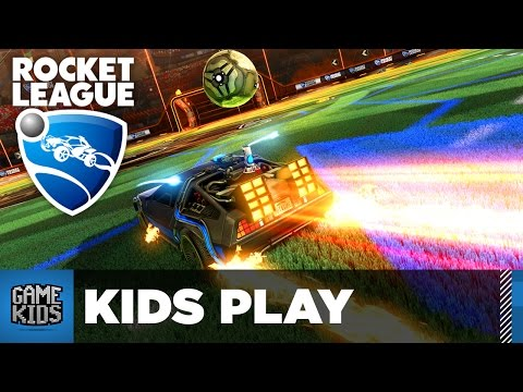 Rocket League Gameplay Part 2 - Kids Play