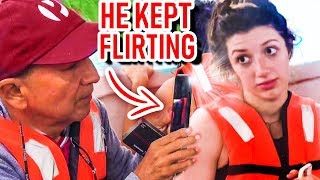 WE GOT ON A BOAT WITH A SUGAR DADDY 🍵😱🤑 *this TEA is STRONG* not a Musical.ly or TikTok