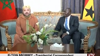 President Akufo-Addo to hold talks with Moroccan King - Joy News Today (17-2-17)