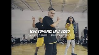 Wisin,Yandel,daddy  Todo comienza en la disco / TRILLABO cuestabrothers ft diego vazquez