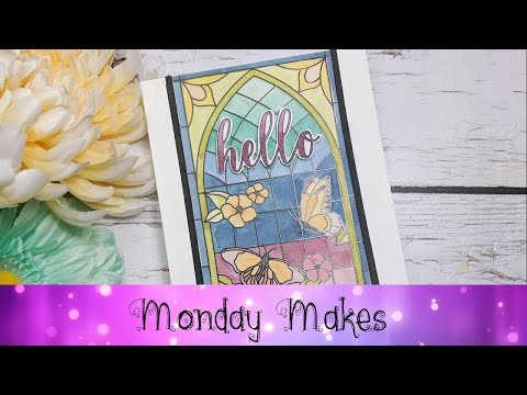 Stained Glass Card featuring Stampin' Up!® Products