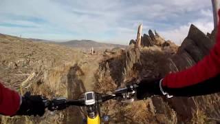 Bobcat Ridge, Ginny Trail Downhill (short Version)
