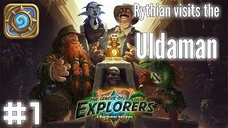 Hearthstone: League of Explorers - Uldaman: Chieftain Scarvash and the Minecart Escape
