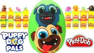 Bingo ve Roli Sürpriz Yumurtası Oyun Hamuru Türkçe Puppy Dog Pals Oyuncakları
