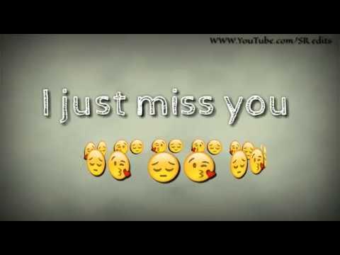 I Miss You Very Sad Whatsapp Status Youtube