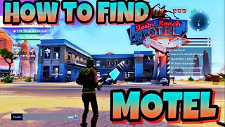 HOW TO FIND MOTEL IN FORTNITE SAVE THE WORLD