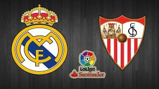 Real Madrid 5 - 0 Sevilla - La liga - [Radio]