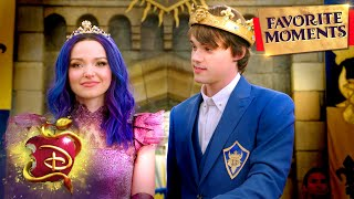 Ben and Mal's Love Story Part 2! | Compilation | Descendants