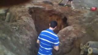 Day 1 Of Underground Fort