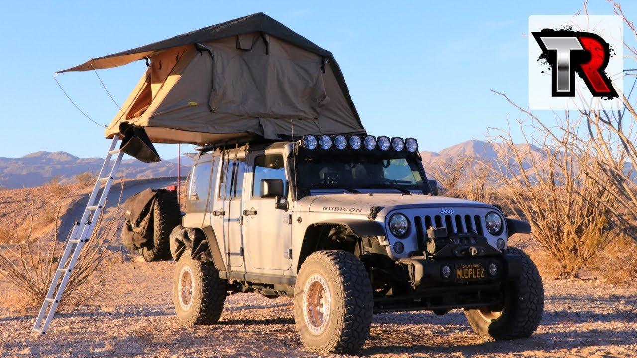 Roof Top Tent Review - Smittybilt Overlander & Roof Top Tent Review - Smittybilt Overlander - YouTube
