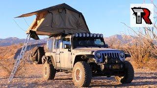 Roof Top Tent Review - Smittybilt Overlander