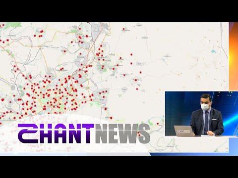 Տեսանյութ.Որտե՞ղ են ավելի շատ ու ավելի քիչ վարակվածները․ օնլայն քարտեզի մանրամասնումը