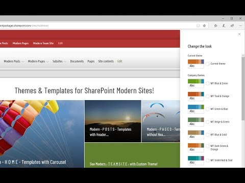 Custom Modern Themes for SharePoint | SPFx Theming Solution