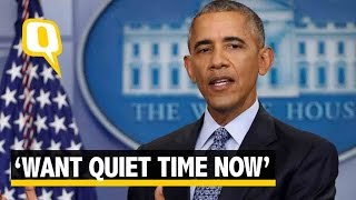 The Quint| Wish to be Quiet and Spend Quality Time With My Girls: Obama