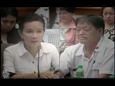 Senate Hearing, Grace Poe on Pres. Duterte Special Powers