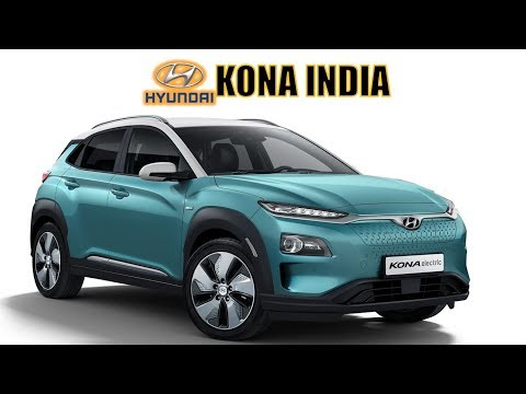 HYUNDAI KONA INDIA - INDIA'S FIRST FULLY ELECTRIC SUV PRICE, FEATURES, LAUNCH AND ALL DETAILS