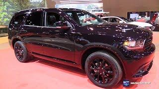 2018 Dodge Durango GT - Exterior and Interior Walkaround - 2018 Chicago Auto Show