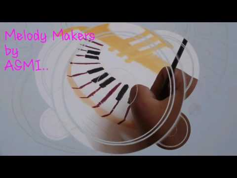 Melody Makers...a beautiful Painting of musical instruments