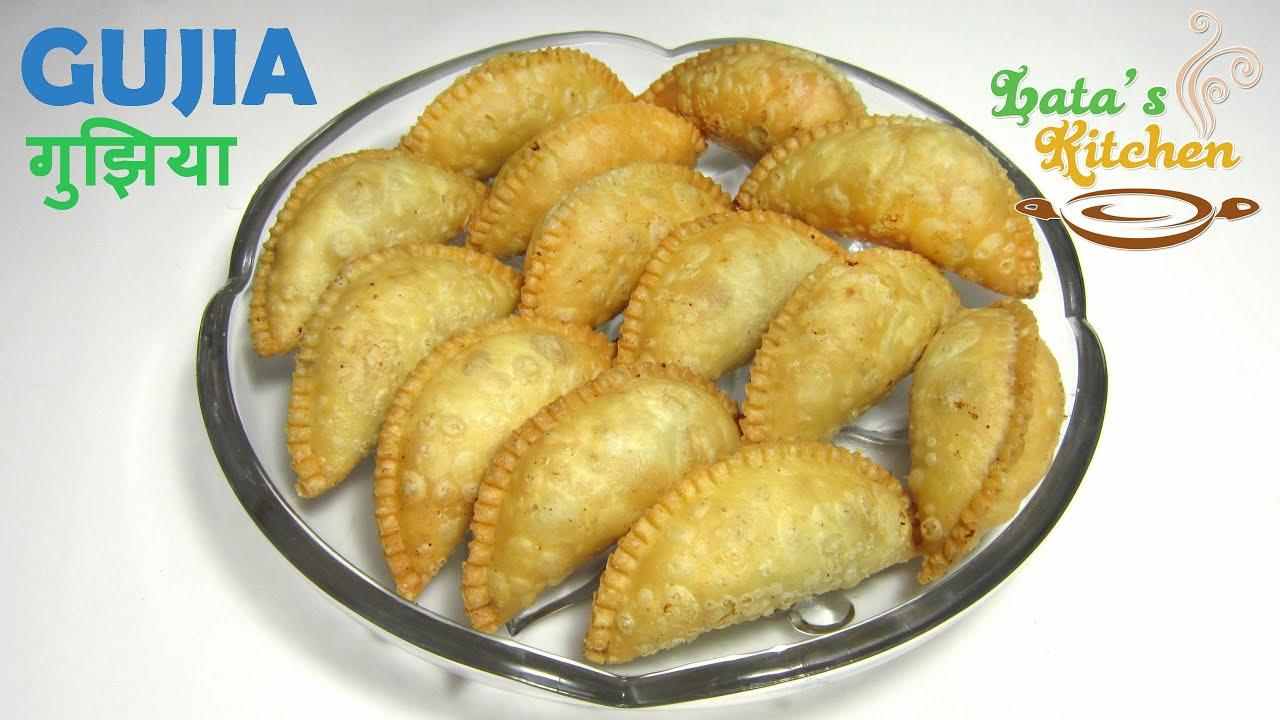 Gujiya Recipe / Mawa Dryfruit Gujiya Recipe - How to make ...