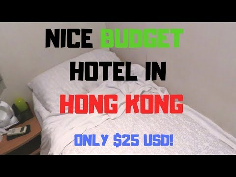 Nice Budget Hotel In Hong Kong  Only Paid $25 USD