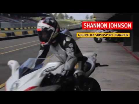 MV Agusta F4 RR with Shannon Johnson Australian Supersport Champion