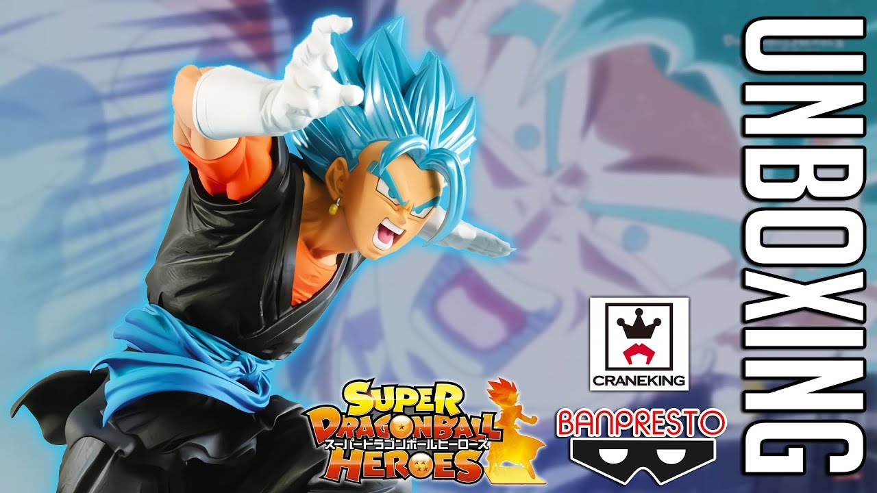 SUPER DRAGON BALL HEROES Vegetto Super Saiyan Blue figurine Banpresto original
