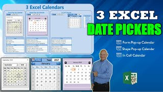 Gambar cover How To Add 3 Different Calendars in Microsoft Excel [Free Download]