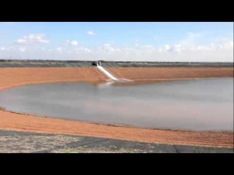 Water reservoir for Lincoln near Newark on Trent