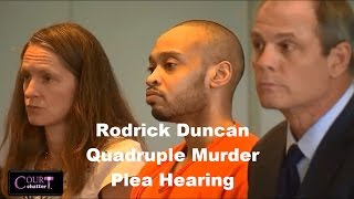 Rodrick Duncan Plea Hearing 08/23/16