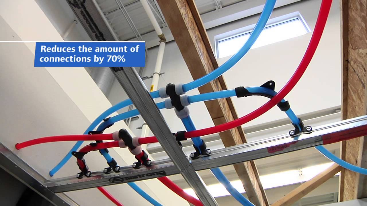 Uponor Logic Unit Piping Installation Techniques Youtube