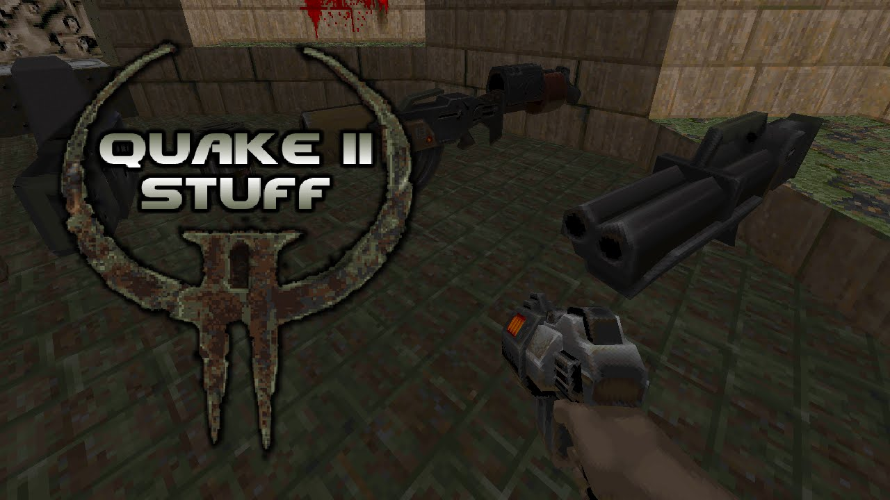Zdoom quake 4 weapons