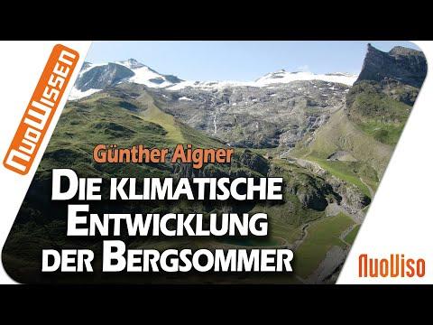 Zur klimatischen Entwicklung der alpinen Bergsommer - Eine Analyse amtlicher Messdaten