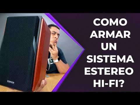 Como armar un sistema Hi-Fi estéreo?