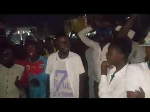 Werrason a Guinee, charge  de 7 jours de la semaine cartonne neti na filme