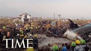 50 Reported Killed In Plane Crash At Kathmandu Airport In Nepal, Airline Says | TIME