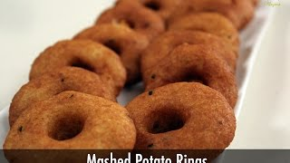 Mashed Potato Rings   Sanjeev Kapoor Khazana