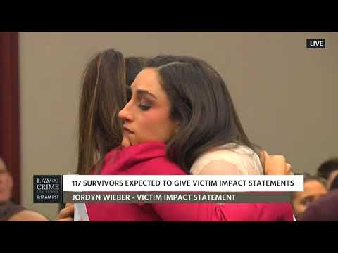 Larry Nassar Sentencing Hearing Day 4 Part 1 Victim Impact Statements 01/19/18