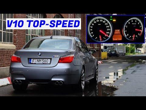 Top-Speed Run \u0026 Stress Testing Cheap V10 BMW E60 M5 6-speed - Project Raleigh: Part 6