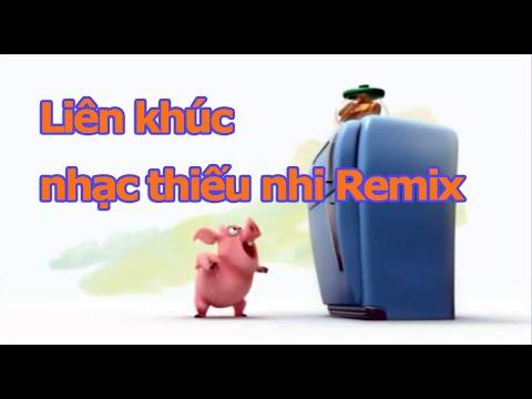 Liên khúc Chú ếch con Remix | nhạc thiếu nhi hay nhất