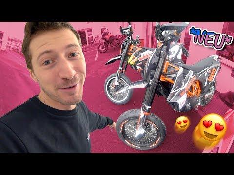 In Motorrad verliebt! 😍  KTM  SMC R