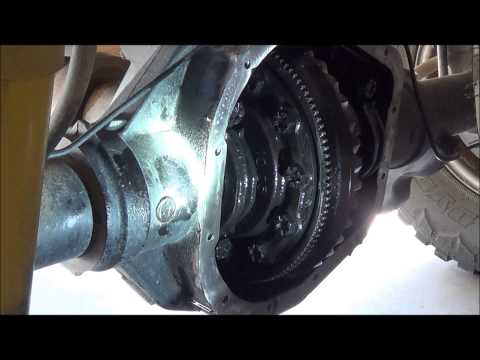 2008-2011 Ford REAR DIFFERENTIAL Fluid Change