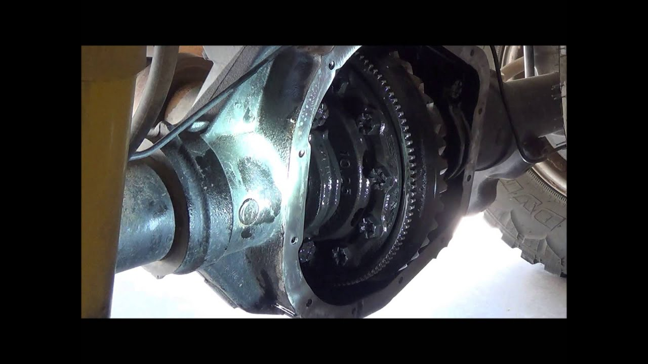 2008 2011 Ford Rear Differential Fluid Change Youtube