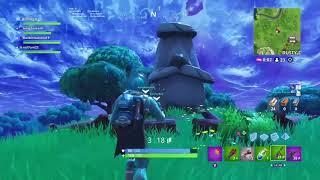 Fortnite new Easter Island head (Dusty Divot)