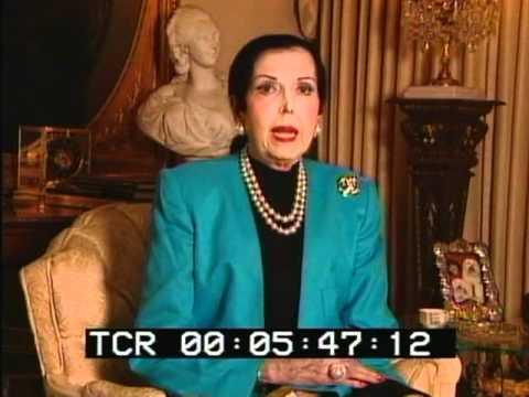 Ann Miller 1996 Interview Part 1 of 8