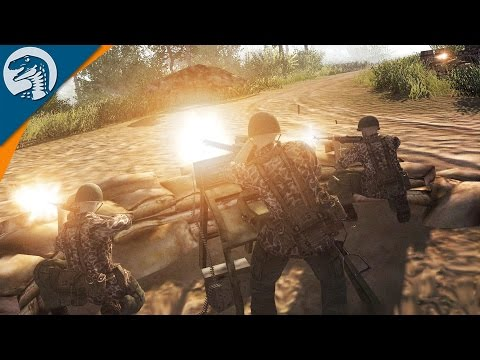 VIETNAMESE AMBUSH | Indochina War Mod | Men of War: Assault Squad 2 [MOD] Gameplay