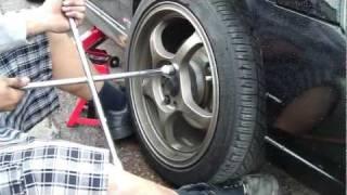 2006 Sentra Se-R Spec V with 20mm Wheel Spacers