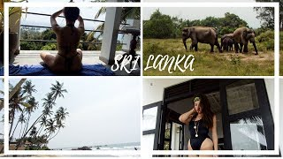 SRI LANKA VLOG - ELEPHANT SAFARI, RELEASING TURTLES