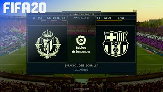 Check out this brand new fifa 20 gameplay of la liga by beatdown gaming on ps4. in match real valladolid take fc barcelona at estadio josé zorrilla!►...