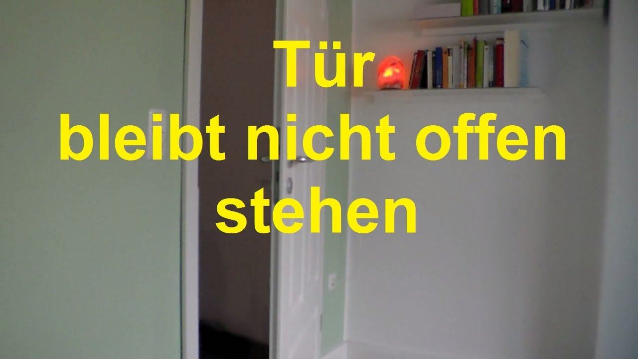 Lifehack: Tür Fällt Von Allein Wieder Zu Zimmertür Bleibt Nicht Offen Stehen