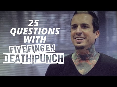 25 Questions with Five Finger Death Punch